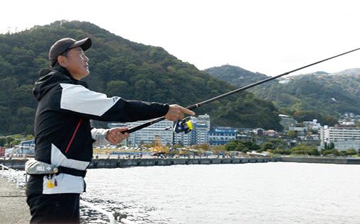 【記事】チョイ投げ仕掛けで釣る