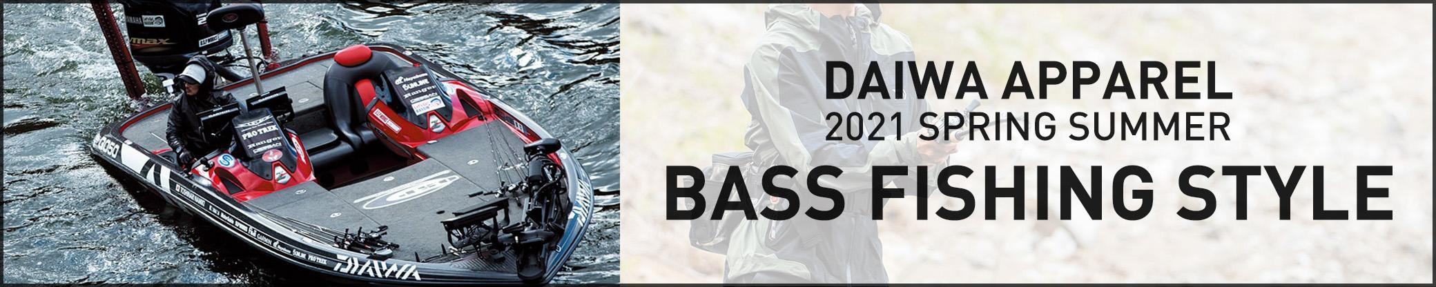 DAIWA APPAREL 2021SS BASS FISHING STYLE